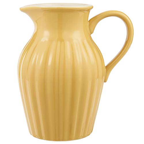 IB Laursen MYNTE Kanne 1,7 Liter Gelb Keramik Geschirr Mustard Karaffe Krug