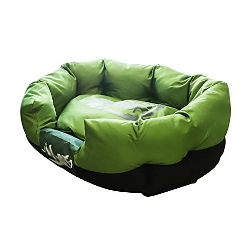 SHENGYUAN Cama para mascotas, 4 estaciones, cama para gatos, nido cuadrado de teflón, fácil de limpiar, extraíble y lavable, cama pequeña y mediana para mascotas, L-30 x 20 x 10 pulgadas 5