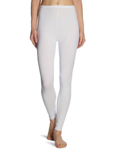 Schiesser Damen Hose Lang Unterhose, Weiß (100-weiss), 48