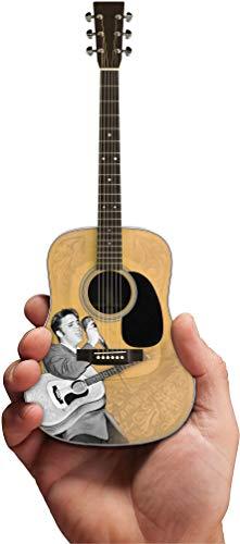 AXE HEAVEN Mini guitarra acústica con licencia Elvis Presley '55 Homenaje (EP-360)
