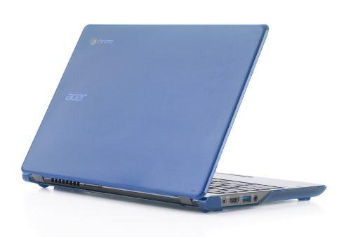 mCover Hartschalen-Schutzhülle für Acer Chromebook 39,6 cm (15.6 Zoll) nur für CB515 Serie (nicht kompatibel mit älteren C910/CB5-571/CB3-531-Modellen) blau blau 11.6