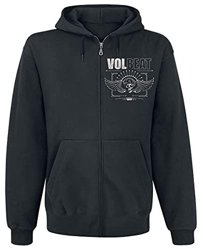 Volbeat Skullwing - Rewind, Replay, Rebound Männer Kapuzenjacke schwarz XL