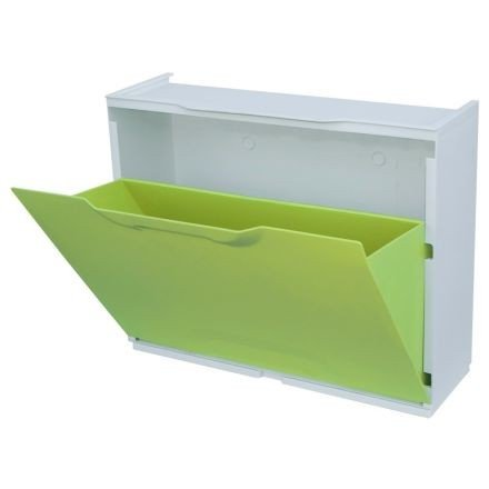 Art Plast Scarpa autocarro/scarpiera-Element in plastica, Verde