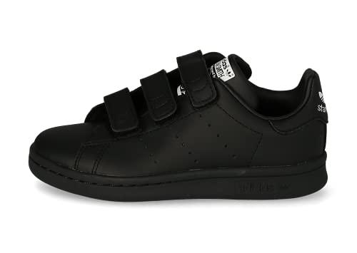 adidas Stan Smith CF, Sneaker, Core Black/Core Black/Cloud White, 31 EU