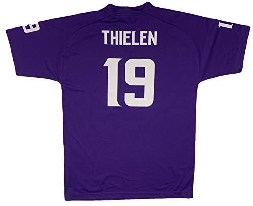 Adam Thielen Minnesota Vikings #19 Purple Performance Fashion Youth Jersey (X-Large 18/20)