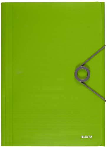 Leitz 45631050 Solid Eckspannermappe PP A4, hellgrün