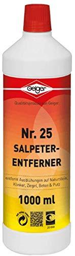 Geiger Chemie Nr. 25 Salpeter-Entferner 1000ml Flasche