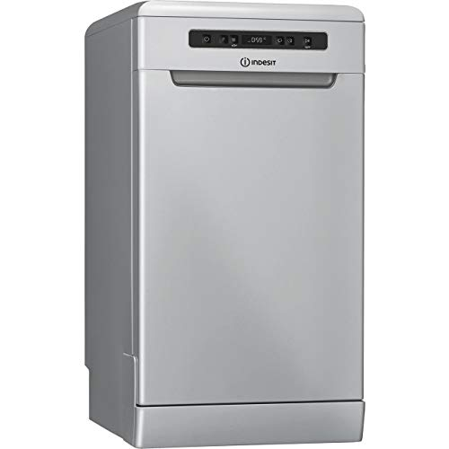 Indesit DSFC3M19SUK Freestanding A+ Rated Dishwasher - Silver