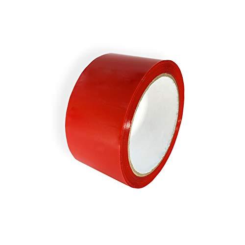 Keephot Allzweck-Klebeband, mehrfarbig, 48 mm x 66 m, 1 Stück, rot