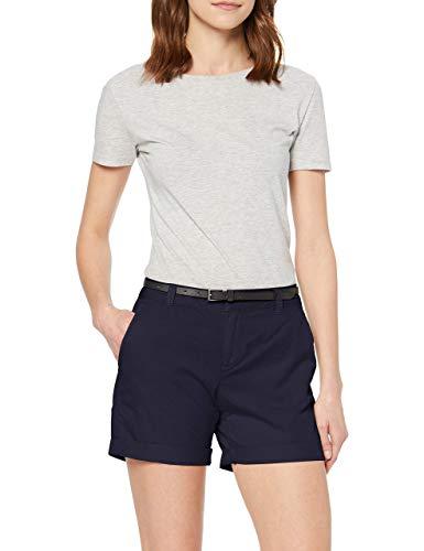 Vero Moda NOS Vmflash Mr Chino Shorts Noos, Pantaloncini Donna, Blu Night Sky), 40 (Taglia Produttore: X-Small)