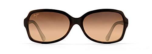 Maui Jim Women's Cloud Break Cat-Eye Sunglasses, Tortoise/Peacock Blue/HCL Bronze Polarized, Medium