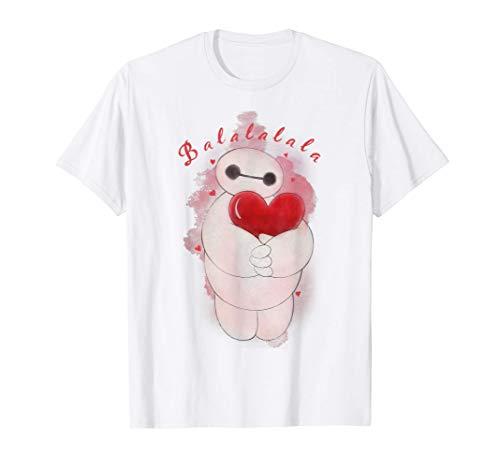 Disney Big Hero 6 Baymax Heart Portrait Camiseta