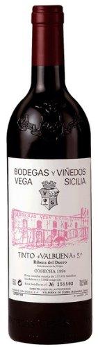 Valbuena 5º Vega Sicilia - Vino tinto Vega Sicilia Valbuena 5ª 2009 Ribera del Duero