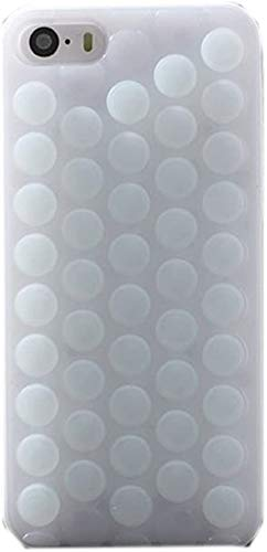 Pop Bubble Case for iPhone 6/6S,Pop Pop Pop Novelty Sound Bubble Wrap Back Puchi Puchi Hybrid Soft Silicone Hard Case Shell Cover for Apple iPhone 6/6S (White)