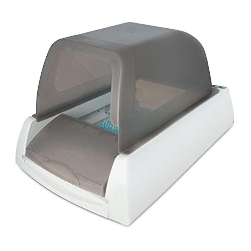 PetSafe - Bac à Litière automatique autonettoyante électrique pour chat avec couvercle ScoopFree Ultra, maison de toilette chat, contrôle des odeurs, litière très absorbante en cristal, hygiénique