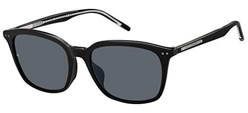 Tommy Hilfiger TH 1789/F/S 203399-807/IR-56 - Gafas de sol para hombre, color negro