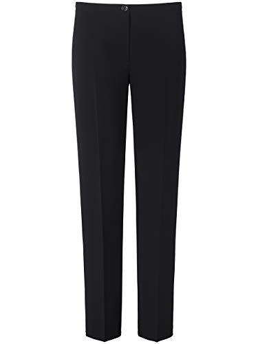 BASLER Damen Hose in Uni-Design mit Bügelfalten