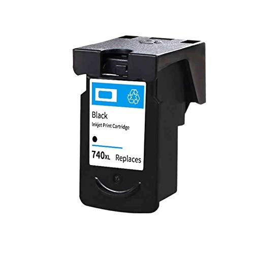 Reemplazo de cartuchos de tinta remanufacturados para Canon PG740XL CL741XL, para Canon MX377 MG2170 2270 3170 MX397 MG2270 Impresora 1*black