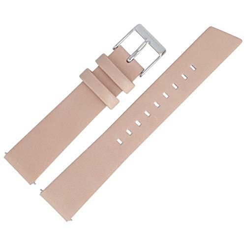 Liebeskind Berlin Uhrenarmband 18mm Leder Beige Glatt - B_LT-0174-LA