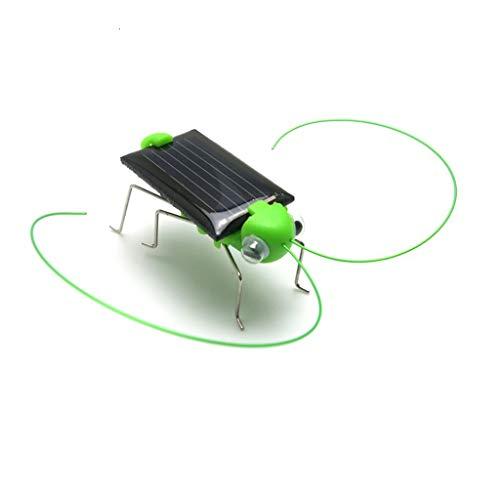 Fliyeong Erstklassige angetriebene Solarauto-Spielwaren, pädagogische Sonnenenergie-Miniauto-Rennläufer-Roboter-Insekt spielt solarbetriebenes Spielzeug, Spielzeug für 3+ Jahre alte Junge Mädchen