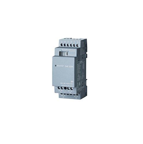 Siemens stlogo–Erweiterung DM812/24R PU/I/O Modul 1224V/12V/24V