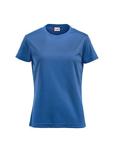 Damen Funktions T-Shirt aus Polyester von CLIQUE. Das T-Shirt für den Sport, perforiert und feuchtigkeitsabführend von notrash2003 (Royalblau, XL)