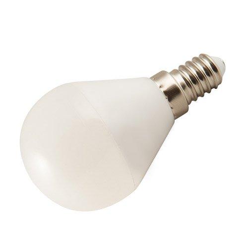 Igenix lampada LED, 5W con piena luce istantanea, trasparente Attacco Edison piccolo Transparent
