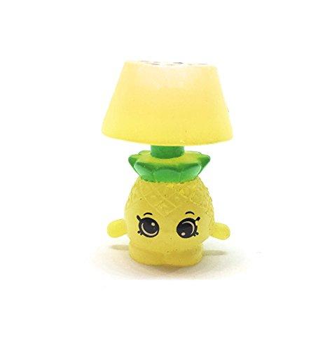 Shopkins Season 9 Wild Style #9-076 Patty Pineapple Lamp Translucent
