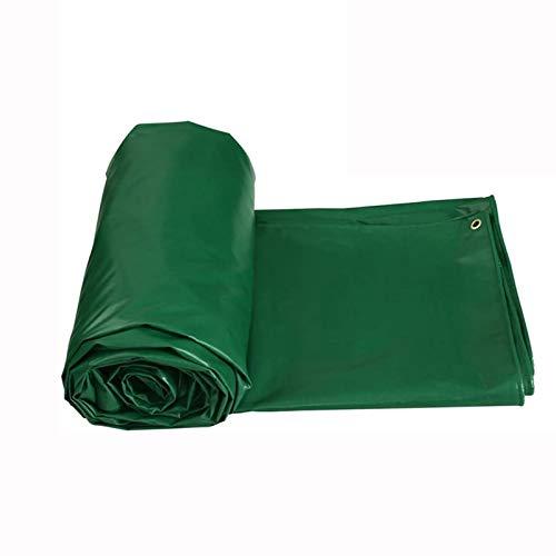 Lona Impermeable, Resistente, Impermeable, Tela, Protección Contra La Nieve, Reutilizable, Para Exteriores, Para Carpas, Para Carpas, Para Rayos UV, Polvo, Lluvia, Nieve(Color:Verde,Size:4x4m)