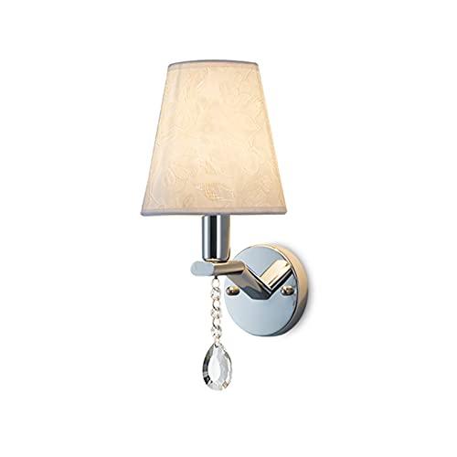 Moderna lámpara Simple Metal Sconce Conector E14 Decorativa Lámpara de Pared de Hierro para Corredor, Dormitorio, Escalera Lámpara de Pasillo No Incluye Bombilla