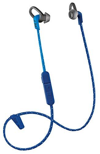 Plantronics BackBeat FIT 305 Sweatproof Sport Earbuds, Wireless Headphones, Dark Blue/Blue (Renewed)