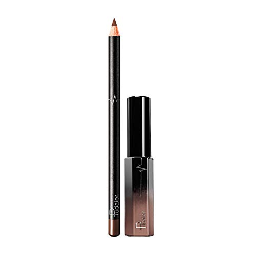 SHE.White 36 StüCke Lipgloss Lippenstift Set Matt Langanhaltender Und Pflegender Make Up Lippenstifte Lip Liner Lipstick Set (1xLipgloss,1x Lip Liner)