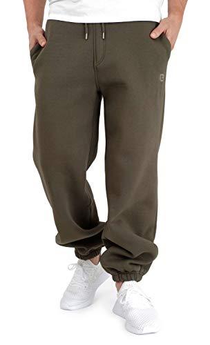 BACKSPIN Sportswear - Jogginghose Basic Farbe Dunkel Olivgrün, Größe XXL