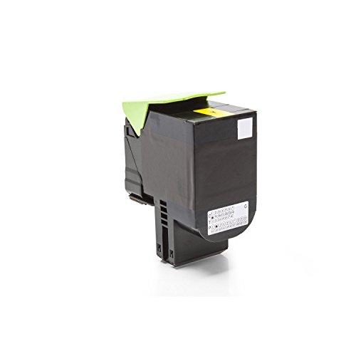 HQ Patronen Alternative zu Lexmark 70C2HY0 / 702HY Toner Gelb für ca. 3.000 Seiten