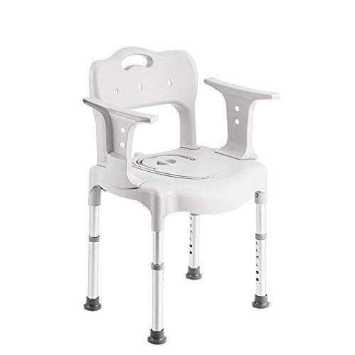 LXDDP Chaise de Salle de Bain pour Douche Banquette/Chaise Garde-Robe Stable antidérapant Capacité de Charge maximale réglable de 6 Positions