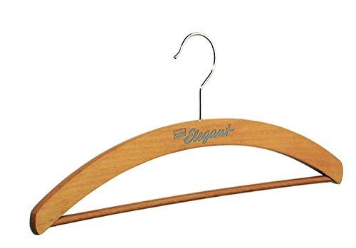 Kleiderbügel pieperconcept Union Elegant Steg buche Massivholz integrierter Hosensteg