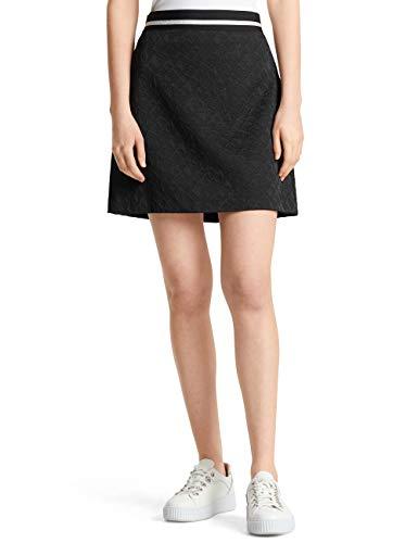 Marc Cain Sports Damen MS 71.11 W09 Rock, Mehrfarbig (Black 900), 40 (Herstellergröße: 4)