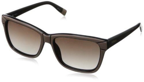 Furla - Gafas de sol Wayfarer SU4847 Cortina