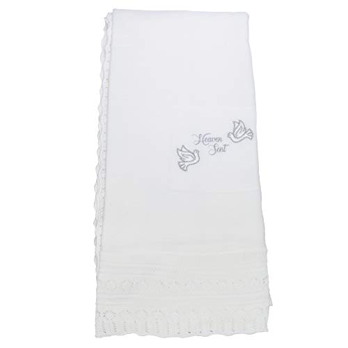 Snuggle Baby - Châle HEAVEN SENT CHRISTENING - Bébé (Taille unique) (Blanc cassé)