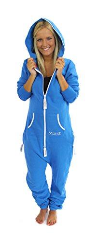 Moniz Moniz Damen Jumpsuit, royal blau, Größe M