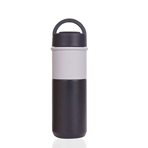Ace Travel Buddy Keramik-Thermobecher, vakuumisolierter Edelstahlbecher mit Keramikeinsatz, Kaffeetasse zum Mitnehmen, auslaufsicher, spülmaschinenfest, Deckel BPA-frei