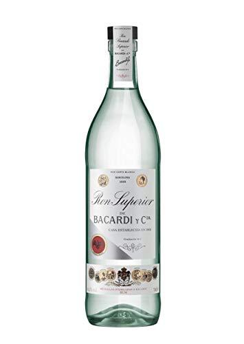 BACARDI Ron Carta Blanca Superior Heritage 1909 44,5% Vol. 0,7L - 700 ml