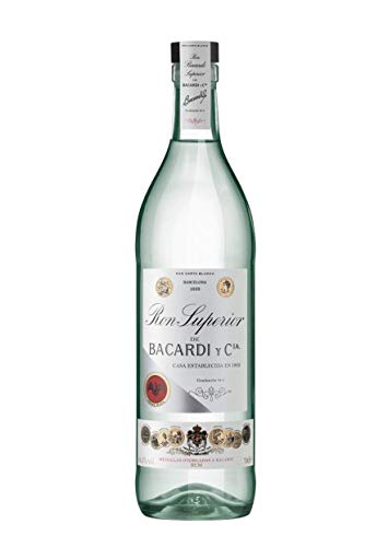 Bacardi Ron Superior Heritage Limited Edition Rum, 70 cl