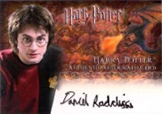 Harry Potter and the Goblet of Fire Update Daniel Radcliffe Autograph Card