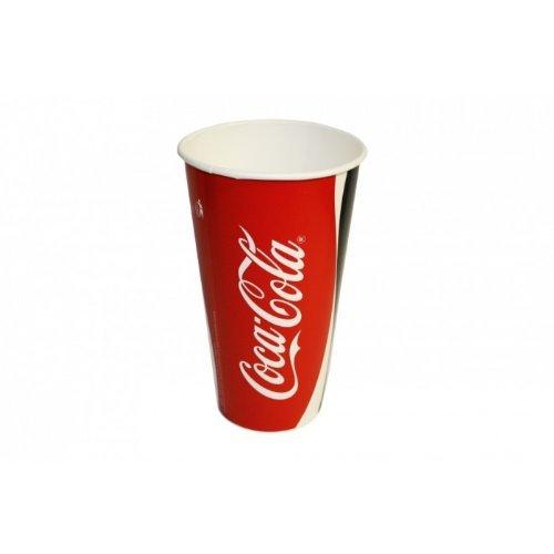 80 original Coca Cola Pappbecher 0,3 L Becher Trinkbecher