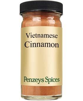 Vietnamese Cinnamon Ground By Penzeys Spices 1.7 oz 1/2 cup jar