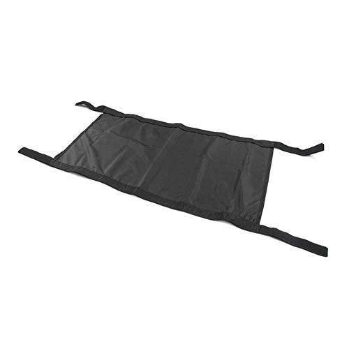 Car Roof Hammock Car Bed Rest Compatible with Jeep Wrangler YJ, TJ, JK 1987-2017 (black)