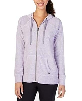 Ideology Womens Sweatshirt Fitness Hoodie Purple S