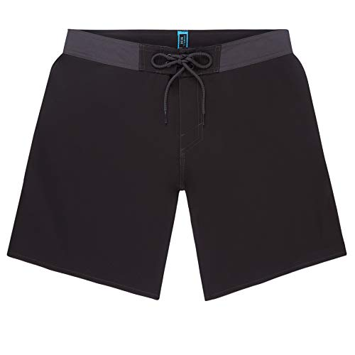 O'Neill PM Solid Freak Boardshorts Bañador, Hombre, Black out, 33