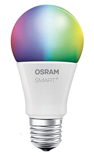 OSRAM Smart+ Ampoule LED Connectée | Culot E27 | Forme Standard | Dimmable | 16 Millions de couleurs | 10W (équivalent 60W) | Bluetooth - Compatible Siri sur Apple & Alexa sur Android